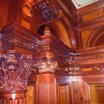 Holzschnitzerei für edles Herrenzimmer