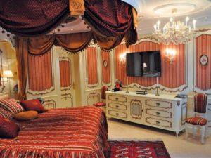 exklusive Schlafzimmer-Einrichtung