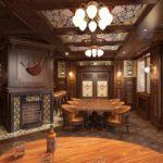 Einrichtung für ein exklusives Irish Pub