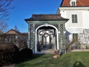 Garten-Pavillon in Eiche massiv